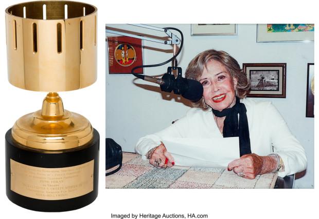 June Foray's Annie Award (1997)