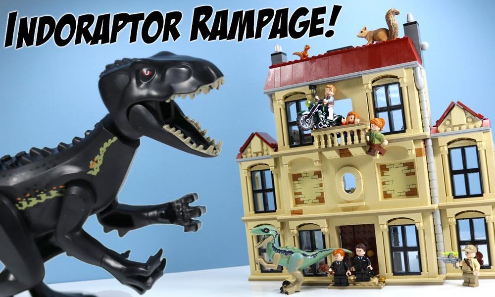 Jurassic World Indoraptor Rampage