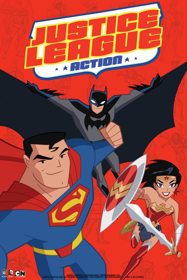 Cartoon Network Announces 'Justice League Action'