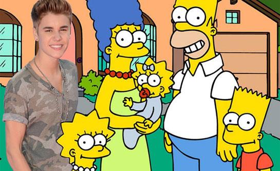 bieber simpsons Justin
