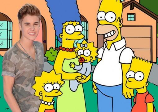 Justin Bieber / The Simpsons