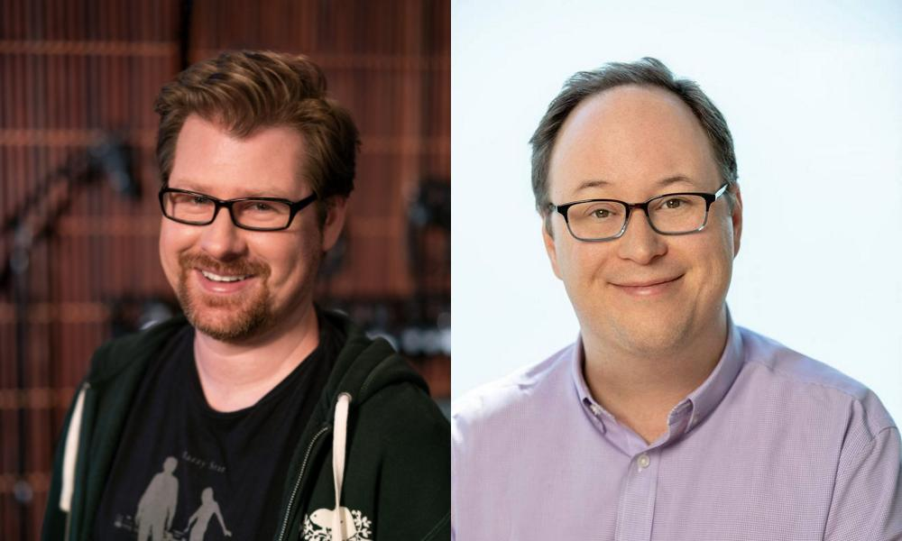 Justin Roiland and Mike McMahan