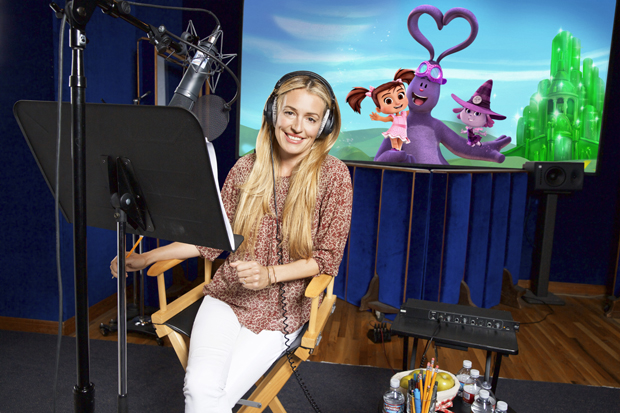 "Cat Deeley voices Violet the Witch in Kate & Mim-Mim ""Kate in Oz"""