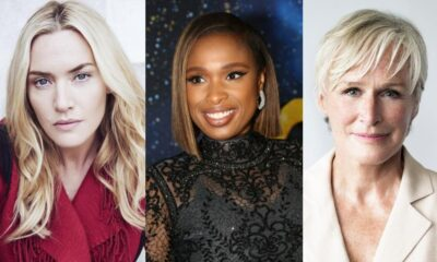 Kate Winslet [Photo: Frederic Auerbach], Jennifer Hudson [Photo: Getty Images], Glenn Close [Photo: Brigitte Lacombe]