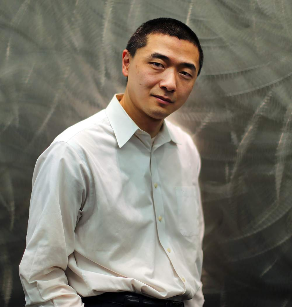 Ken Liu, 2016 [Photo: John Tlumacki / Boston Globe]