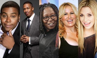 Kenan Thompson, Nick Canon, Whoopi Goldberg, Jennifer Coolidge, E.G. Daily