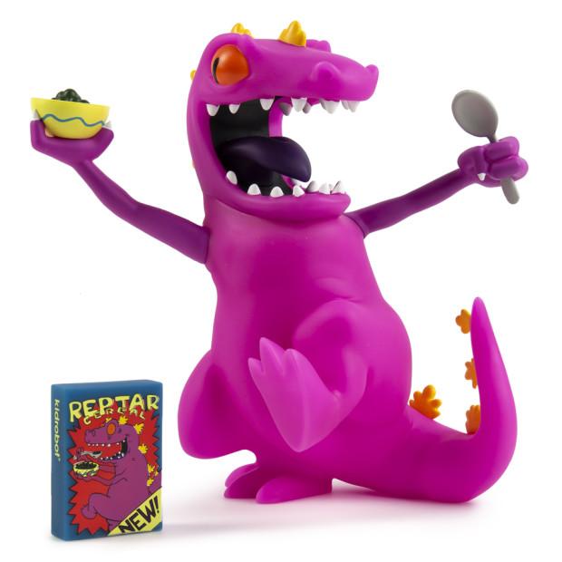 Kidrobot Purple Reptar