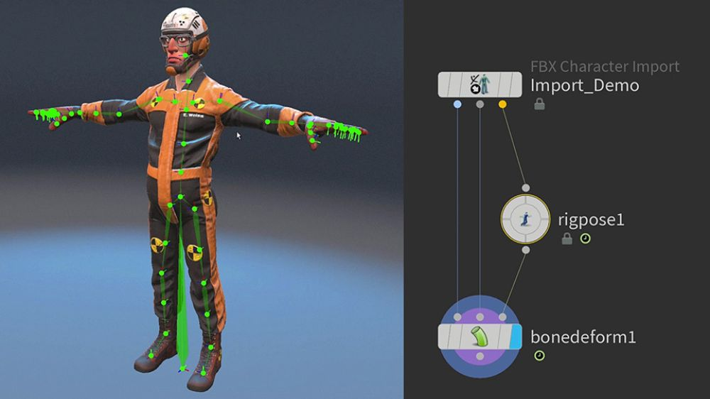 Rigging in Houdini's KineFX by SideFX Software