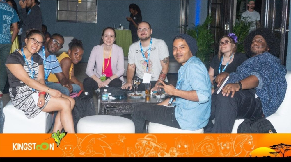 At the end of a hard day's work, it's time for fun at the networking cocktails at KingstOOn.