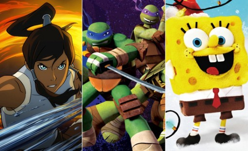 How Korra, the Teenage Mutant Ninja Turtles and a stop-motion SpongeBob came to Nickelodeon's rescue.