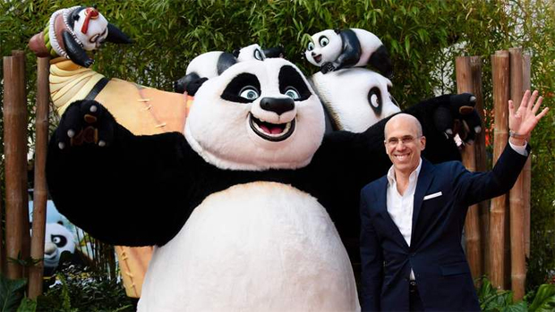 "DreamWorks Animation CEO Jeffrey Katzenberg at the London premiere of ""Kung Fu Panda 3"" on March 6, 2016.  (Leon Neal / AFP/Getty Images)"
