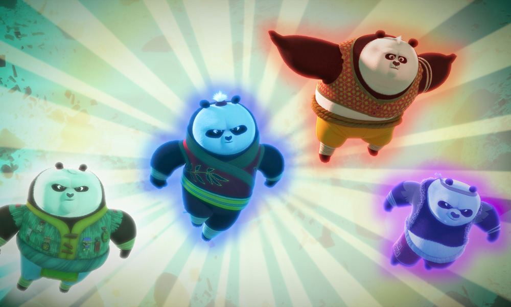 Po Bounces Back In Kung Fu Panda The Paws Of Destiny Animation Magazine