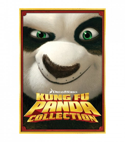 Kung Fu Panda Three-Disc DVD Box Set