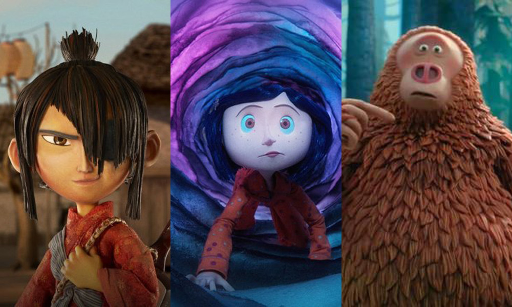 Kubo and the Two Strings, Coraline, and The Missing Link