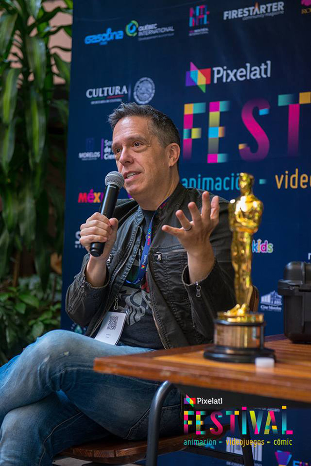 Lee Unkrich at Pixelatl