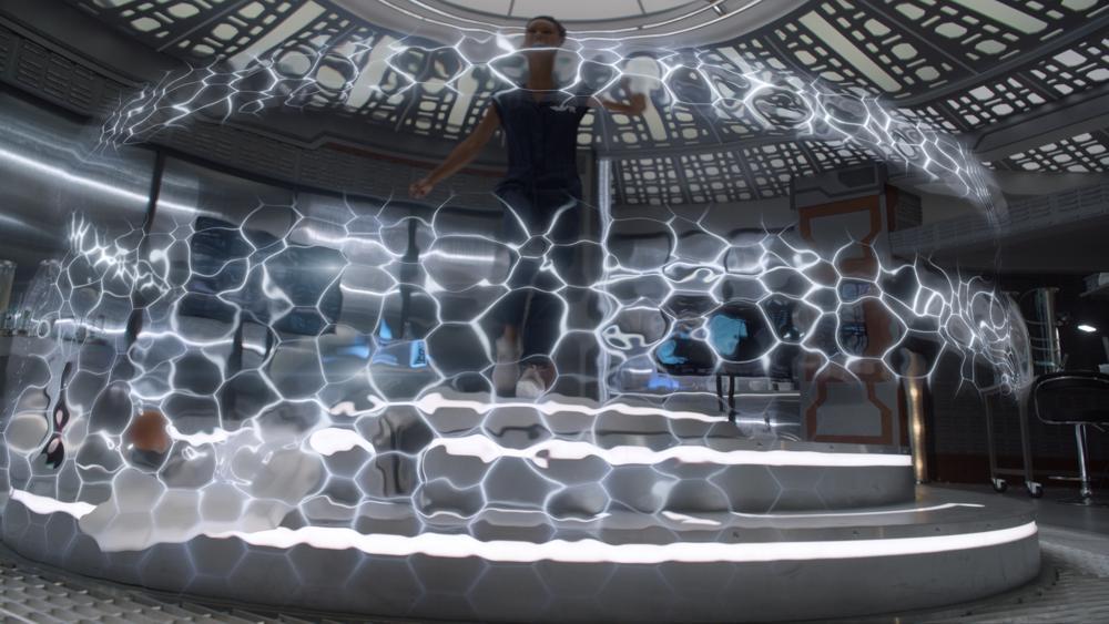 CG energy prison (Legends of Tomorrow)