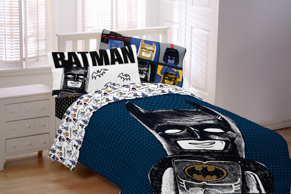 Elegant LEGO Batman Franco Bedding