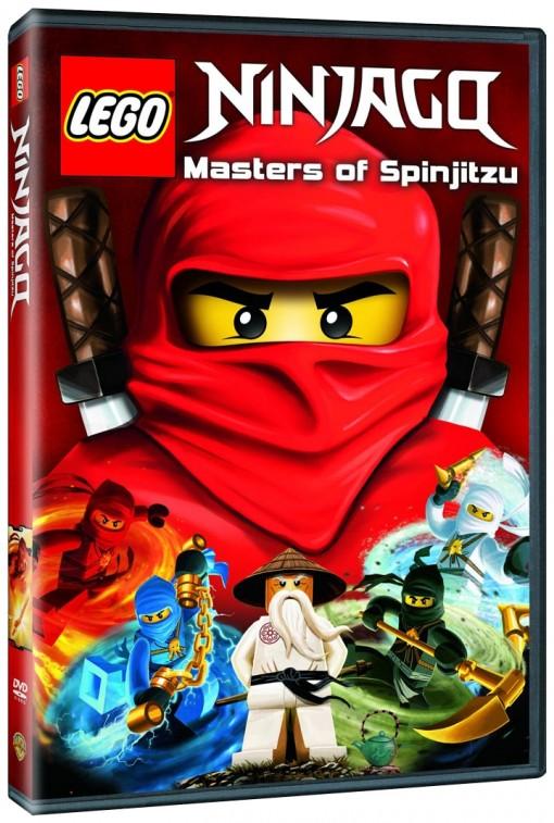 Lego Ninjago: Masters of Spinjitzu DVD