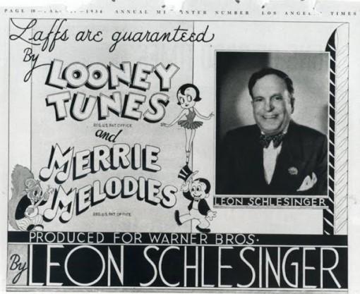 Leon Schlesinger in 1934