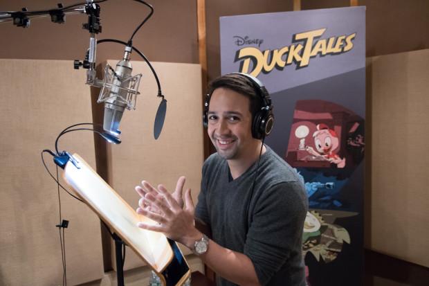 Lin-Manuel Miranda. Photo credit: Disney Channel/Lorenzo Bevilaqua