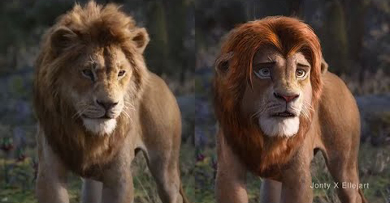 Lion King deepfake