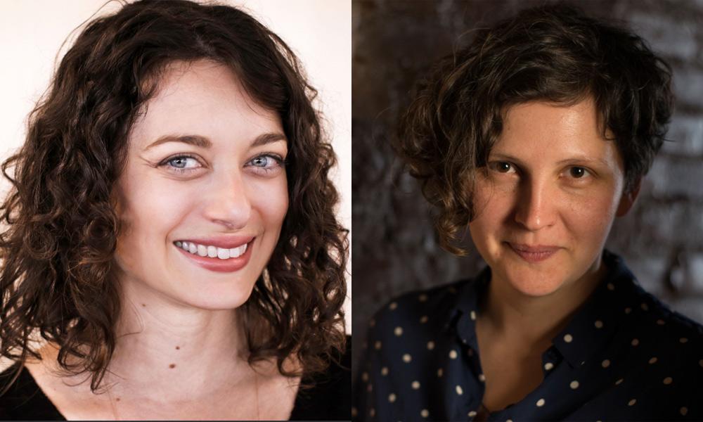 Lisa LoBracio and Anna Samo