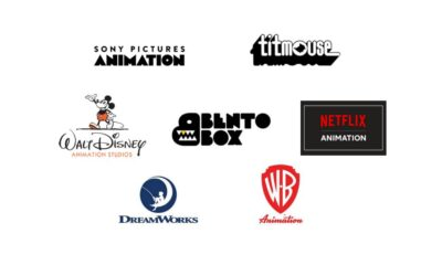 Sony Pictures Animation, Titmouse, Walt Disney Animation Studios, Bento Box, Netflix Animation, DreamWorks Animation, WB Animation