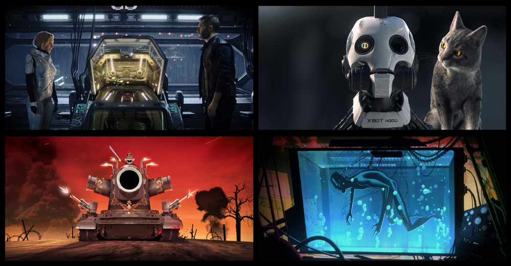 Love, Death And Robots: Tim Miller & David Fincher Animating 'Love, Death & Robots