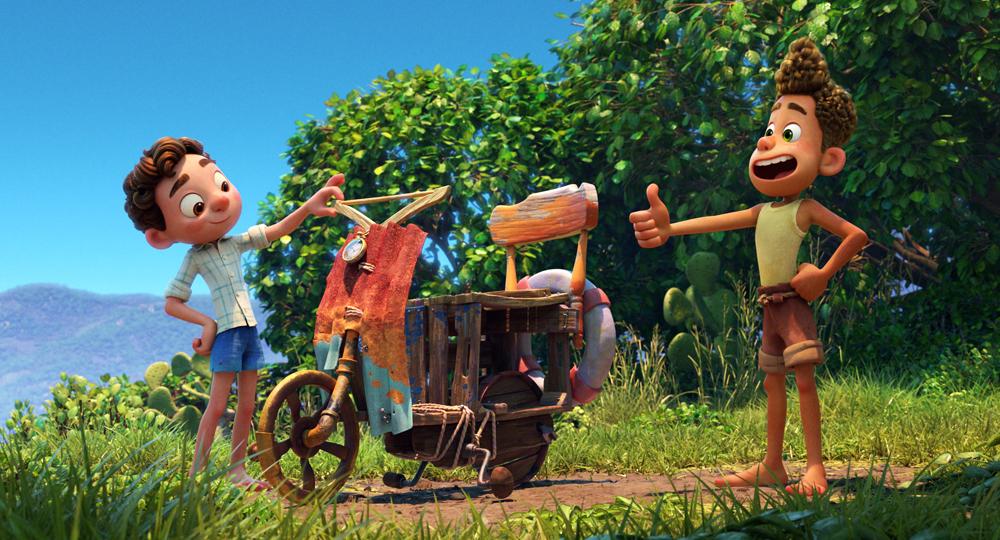 Luca (Pixar Animation Studios/Disney)