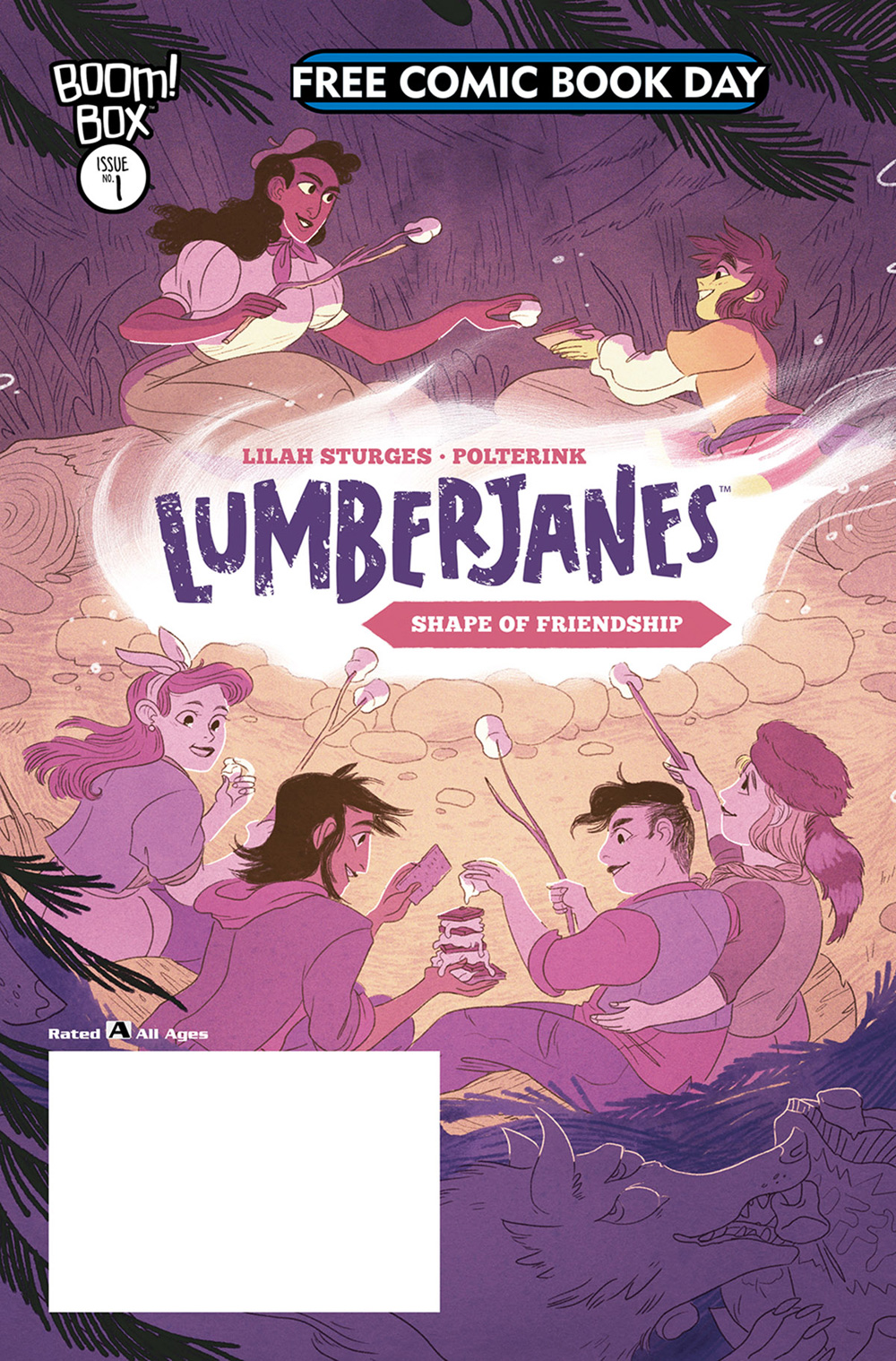 Lumberjane's The Shape of Friendship