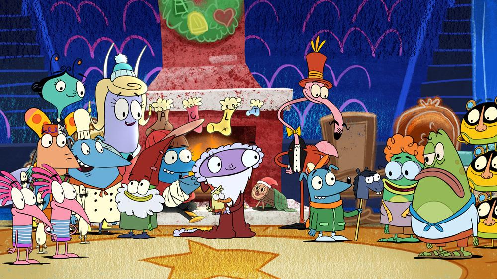 Luna's Christmas Around the World