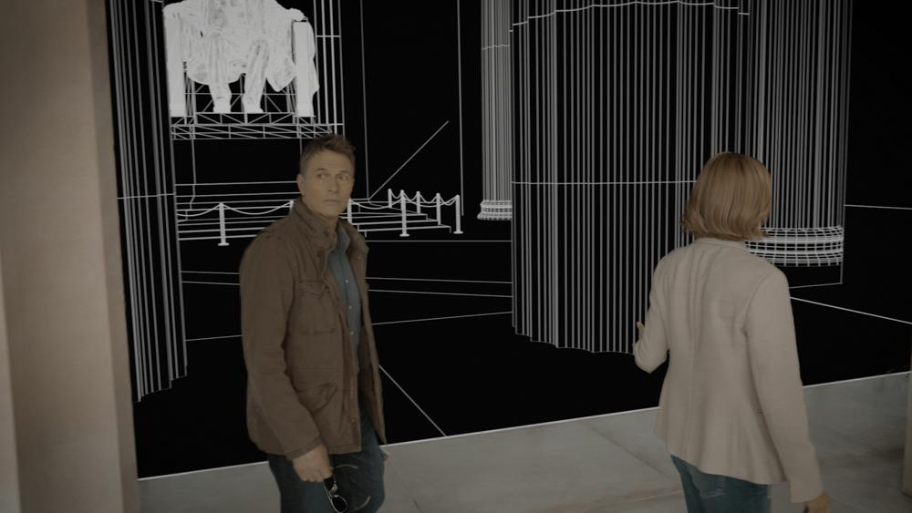 Before & After, CG Replication of the Lincoln Monument (Madam Secretary)