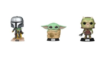 The Mandalorian Funko POP figures
