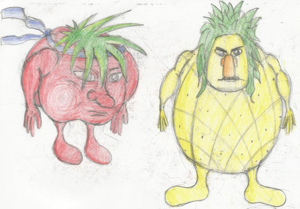 Manuel Lopez fruit drawing