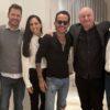 (L-R) Gaston Goreli, Felipe Pimiento, Carla Curiel, Marc Anthony, Juan José Campanella and Roberto Castro [Photo: Magnus Studios]