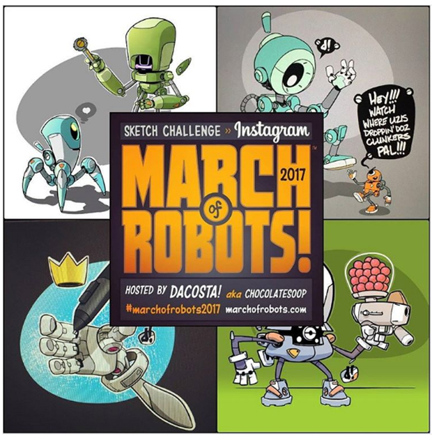 MarcMarch of Robots