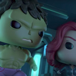 Marvel Funko Hulk and Black Widow