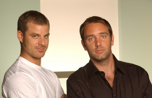 Matt Stone (left) and Trey Parker