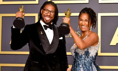 Matthew A. Cherry and Karen Rupert Toliver celebrate at the 92nd Academy Awards Ceremony (Feb. 2020) [Photo: Amy Sussman / Getty Images]