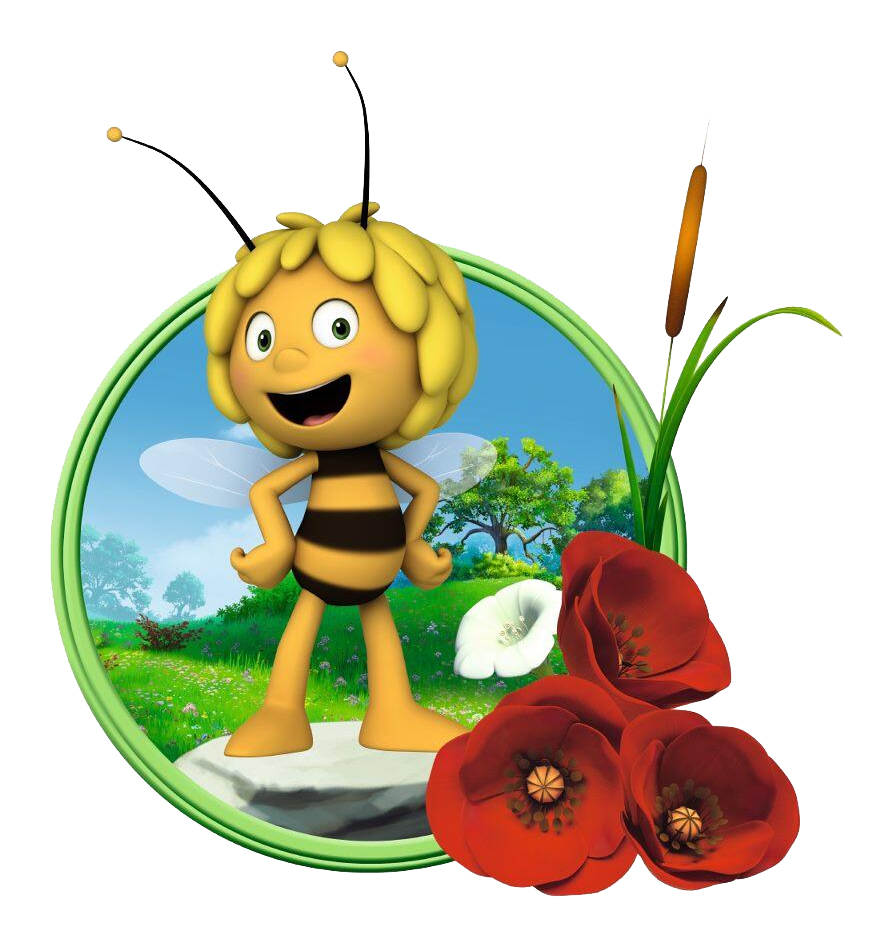 This is a picture of Intrepid Maya the Bee Image
