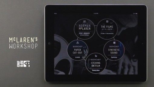 Canada's NFB Launches McLaren Animation App