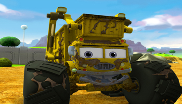 Meteor and the Mighty Monster Trucks'