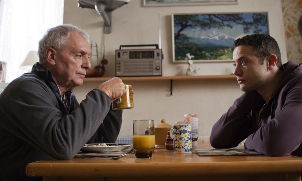 Michael Angelis (left) and Warren Brown in Good Cop (BBC One)