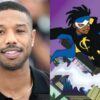 Michael B. Jordan [Photo: Pascal Le Segretain / Getty Images], Static Shock [Warner Bros. Animation]