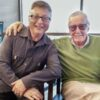 Michael Uslan and Stan Lee