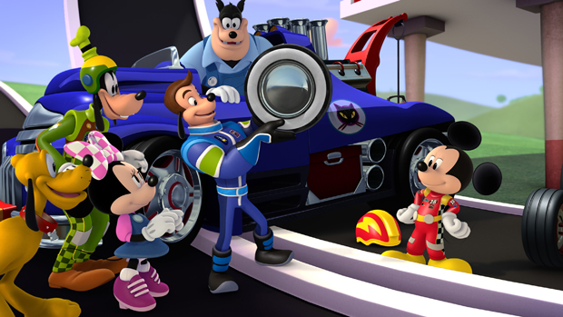 Mickey and the Roadster Race