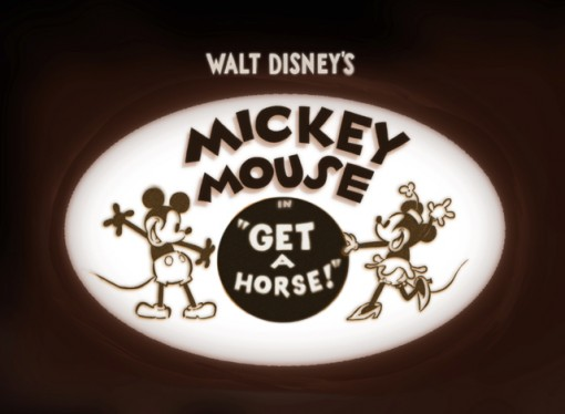 Mickey Mouse in 'Get a Horse'
