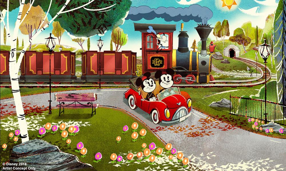 Mickey & Minnie's Runaway Railway' Pulls in 2022