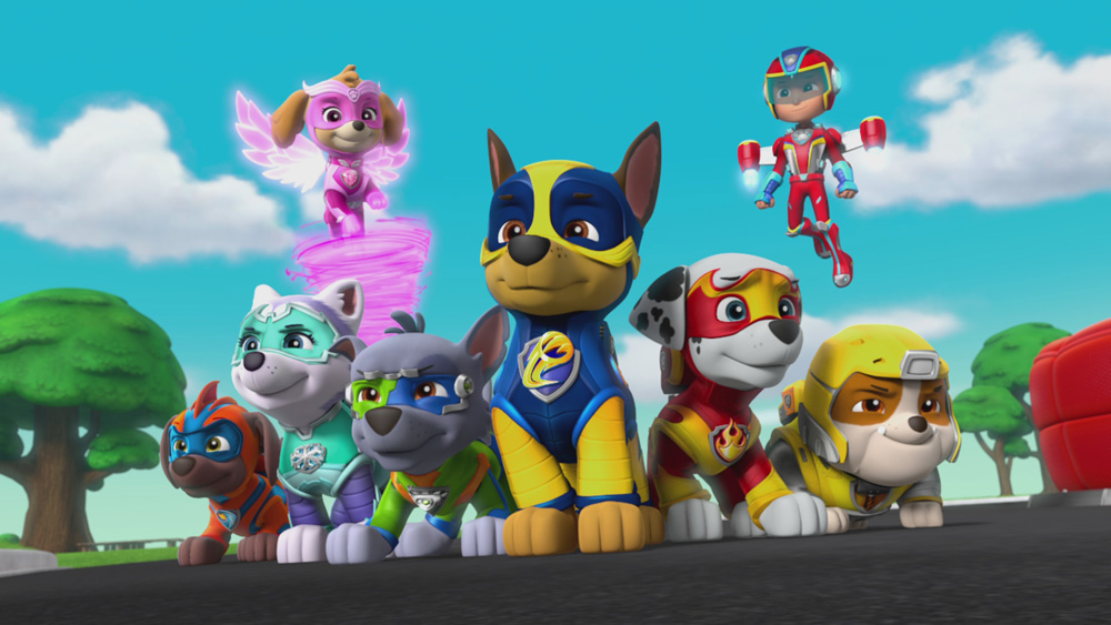 "PAW Patrol ""Mighty Pups"""