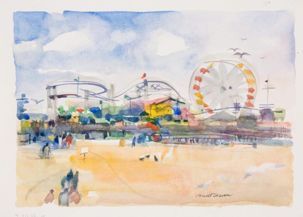 Milton Quon watercolor
